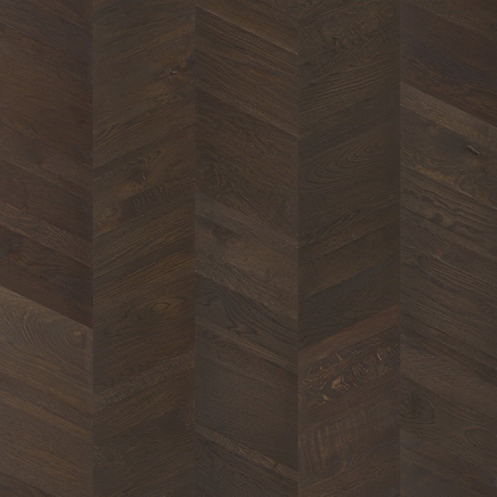 QUICK STEP ENGINEERED WOOD INTENSO CHEVRON COLLECTION OAK INTENSE