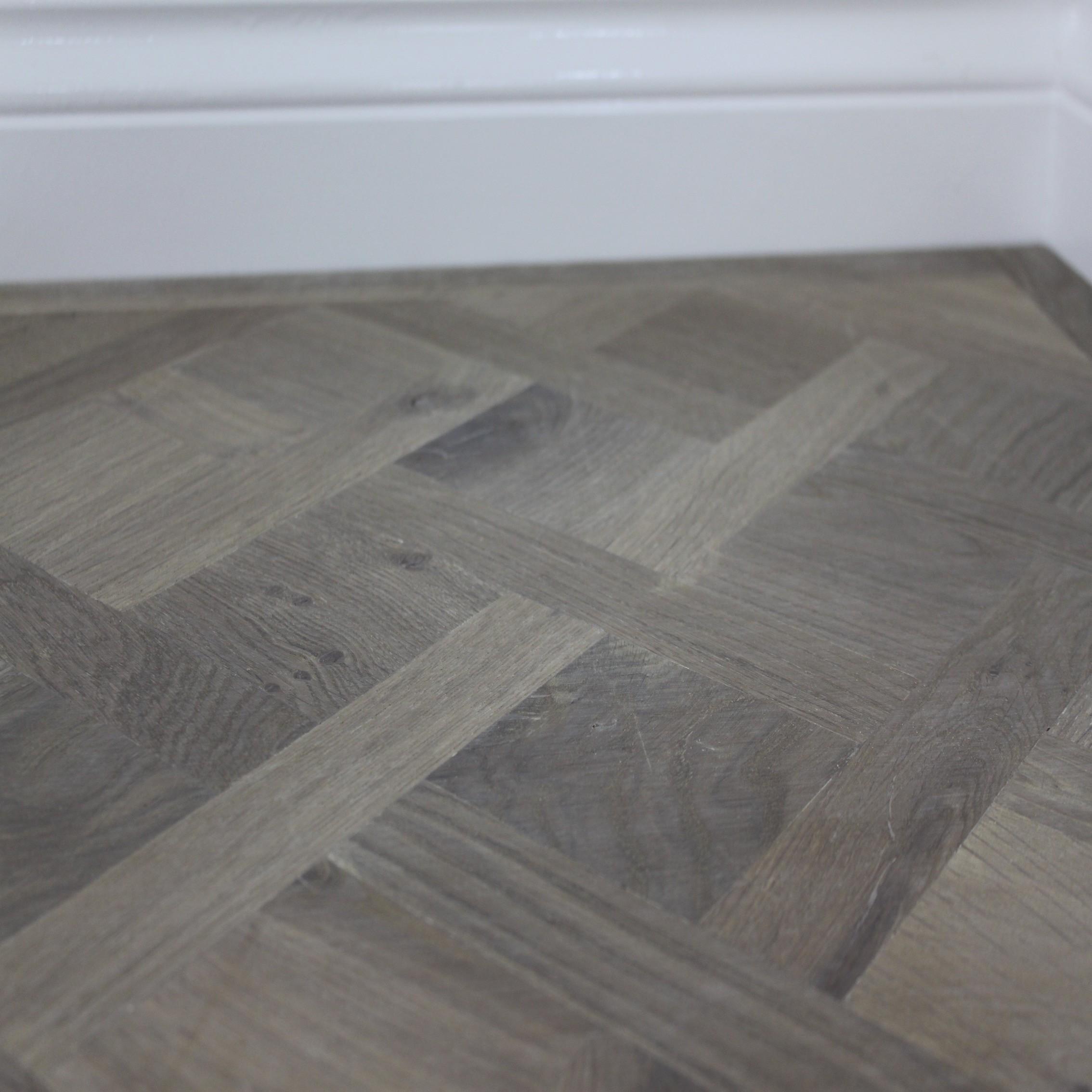Maxi Parquet Panel Oak White Oiled