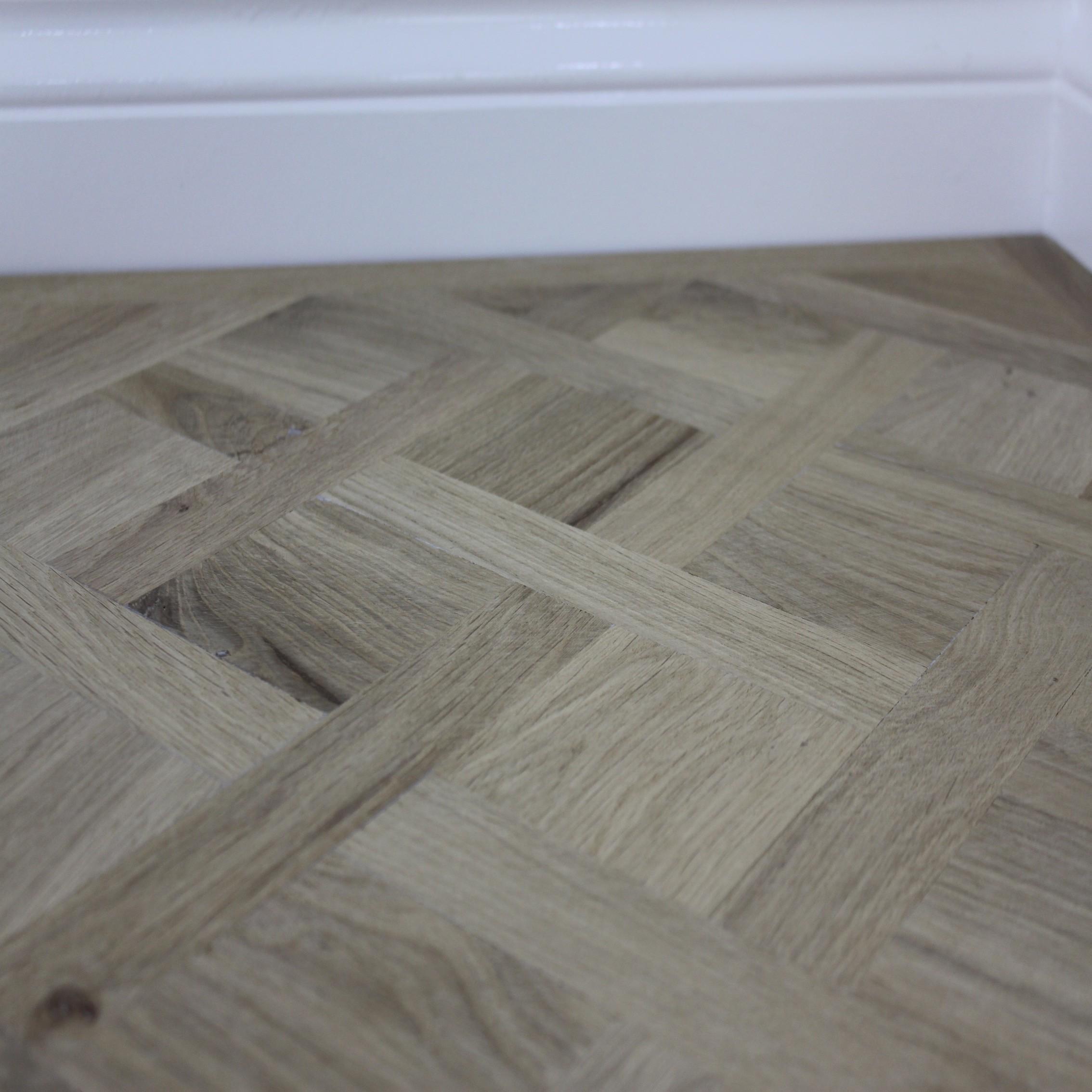 Maxi Parquet Panel Oak Unfinished  Engineered