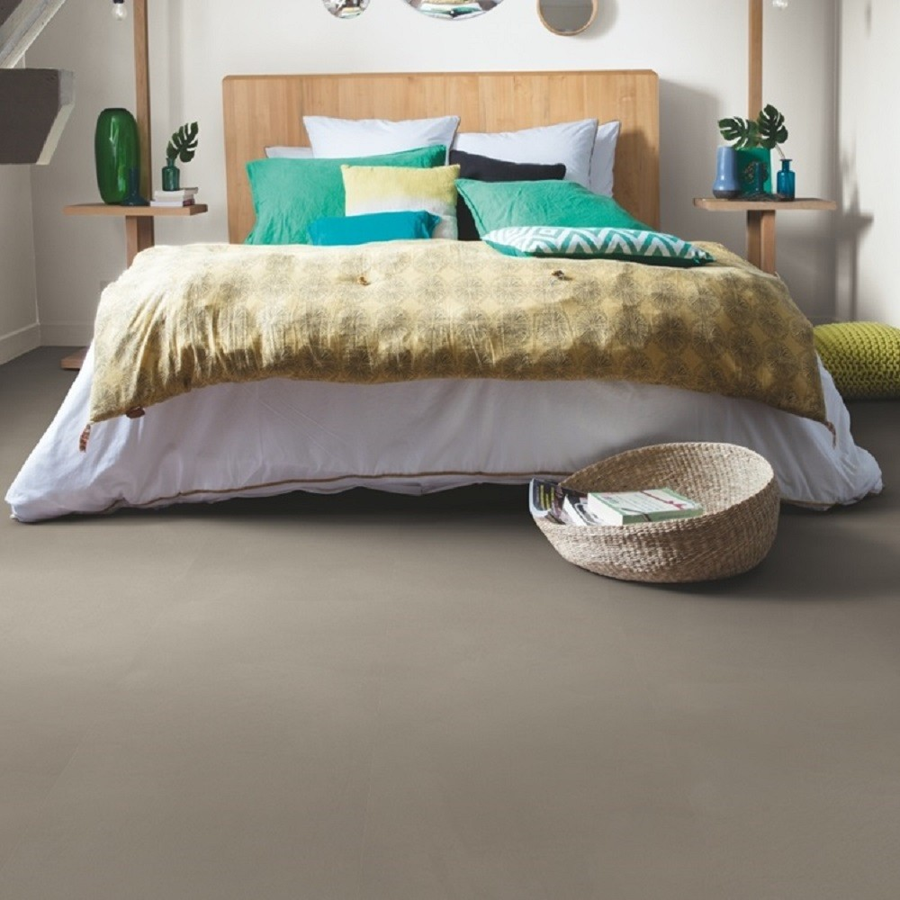 QUICK STEP VINYL WATERPROOF AMBIENT CLICK COLLECTION MINIMAL TAUPE