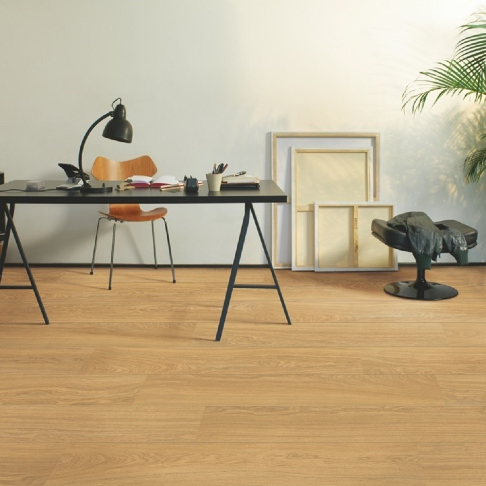 QUICK STEP LAMINATE ENGINEERED PERSPECTIVE WIDE  COLLECTION OAK NATURAL OILED