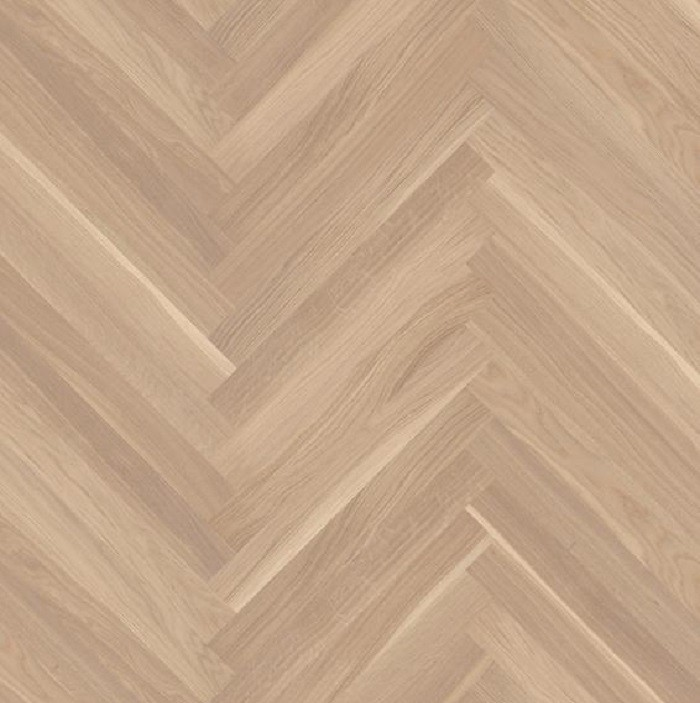 BOEN HERRINGBONE ENGINEERED WOOD FLOORING NORDIC COLLECTION BALTIC WHITE OAK PRIME MATT LACQUERED 70MM-CALL FOR PRICE