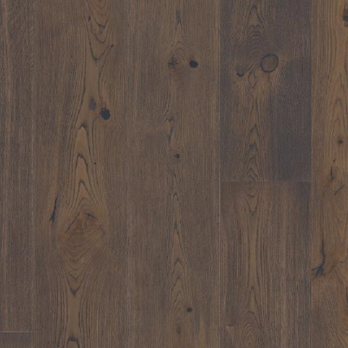 BOEN ENGINEERED WOOD FLOORING RUSTIC COLLECTION CHALETINO BROWN JASPER OAK RUSTIC BRUSHED OILED 300MM - CALL FOR PRICE