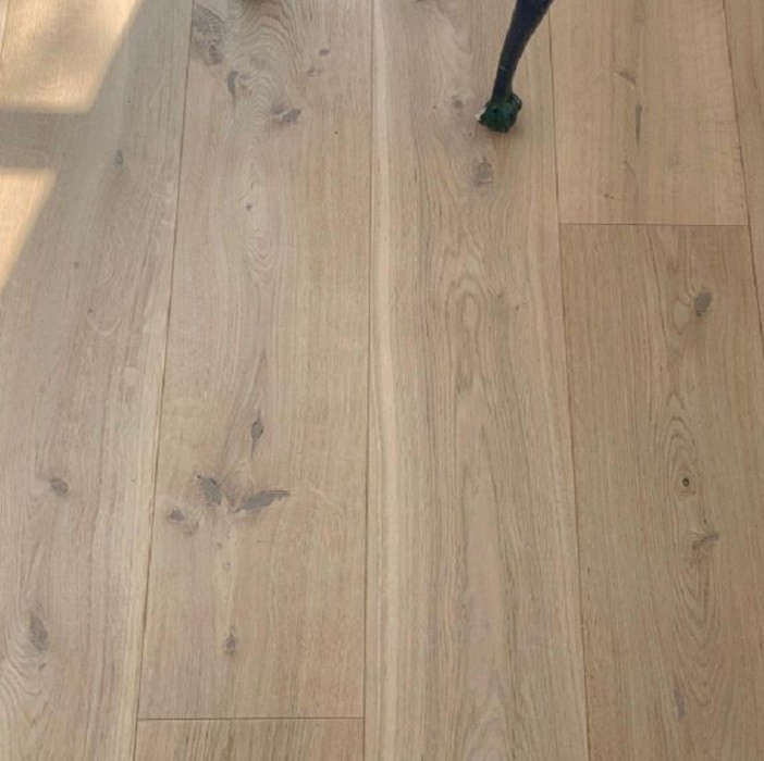 ECO HARDWOOD EUROPEAN PREMIUM ENGINEERED FLOORING ECOHARDWOOD COLOURS COLLECTION  PURE NATURE BRUSHED RUSTIC OAK OILED 180MM