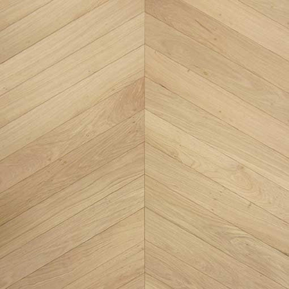 Livigna Chevrons OAK Prime Flooring 45 Degrees Unfinished