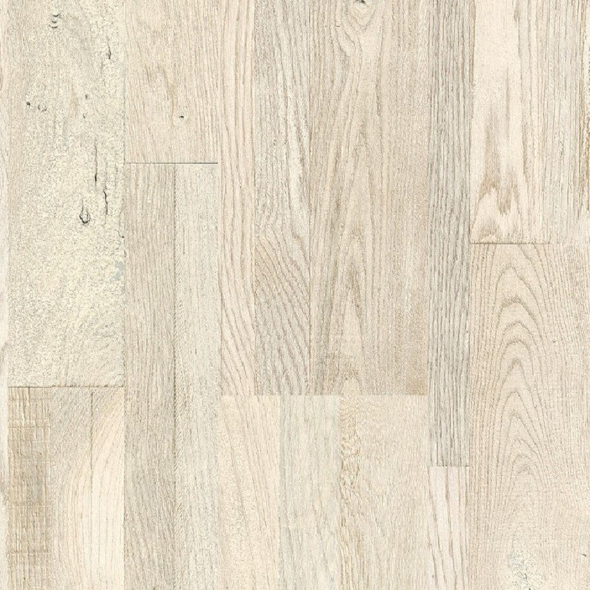 QUICK STEP VARIANO PAINTED WHITE OAK OILED, MULTI-STRIP