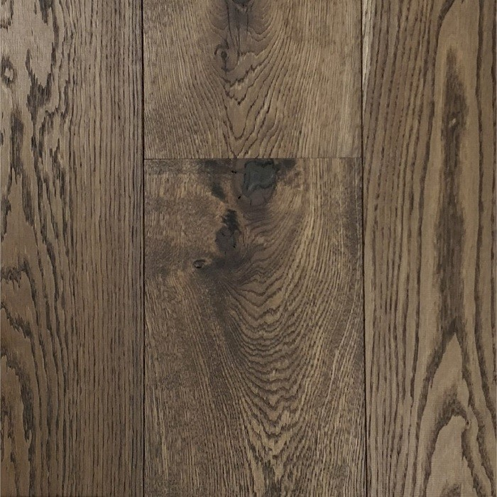 CANADIA ENGINEERED WOOD FLOORING KINGSTON-WIDE PLANK COLLECTION OAK VIRGINIA SMOKED  RUSTIC OILED 220X400-1800MM
