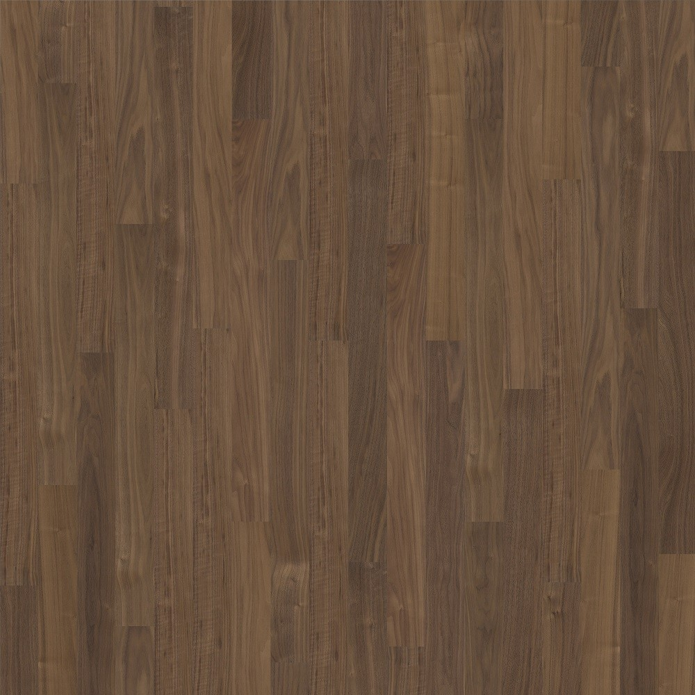 KAHRS Living Collection Walnut Cocoa Satin Lacquer Swedish Engineered Flooring 118mm