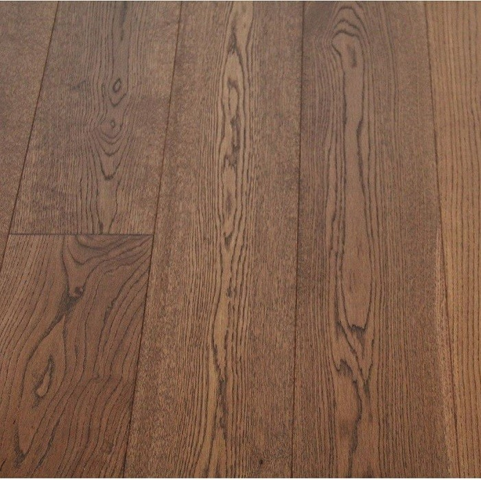 MAXI ENGINEERED WOOD FLOORING OAK WALNUT STAINED BRUSHED RUSTIC UV OILED 189x1860MM