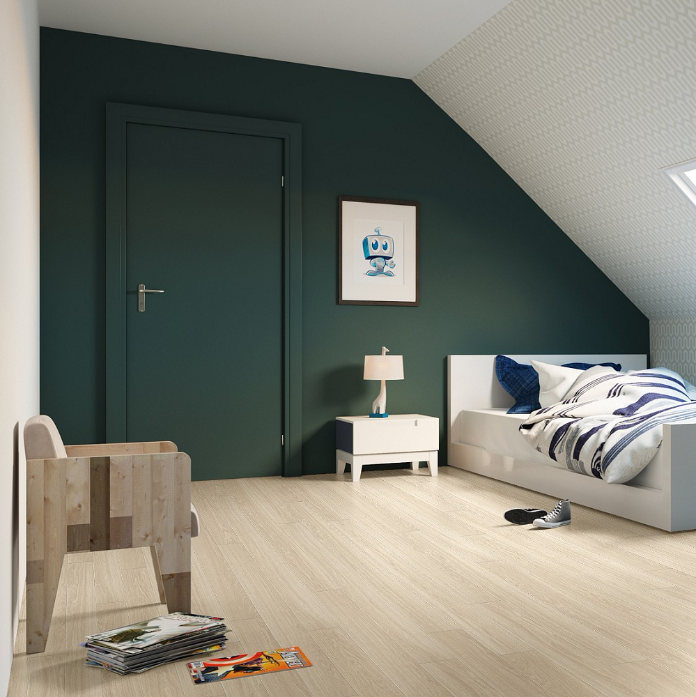 QUICK STEP LAMINATE ENGINEERED PERSPECTIVE WIDE  COLLECTION OAK WHITE OILED FLOORING