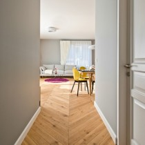 ECO HARDWOOD EUROPEAN PREMIUM CHEVRON ENGINEERED FLOORING ECOHARDWOOD COLOURS COLOURLESS BRUSHED RUSTIC OAK OILED 180MM