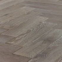 V4 Engineered Oak Oiled Silver Haze  Parquet Flooring 90 x 360mm