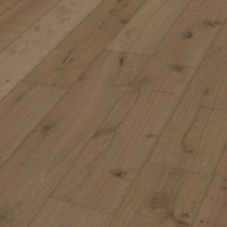 MEISTER GERMAN QUALITY ENGINEERED WOOD FLOORING HD300 LINDURA COLLECTION CLAY GREY OAK RUSTIC  BRUSHED NATURALLY OILED 270MM