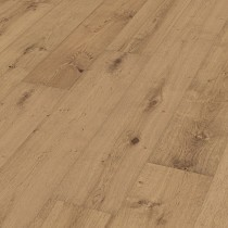 MEISTER GERMAN QUALITY ENGINEERED WOOD FLOORING HD300 LINDURA COLLECTION CAFE LATTE OAK RUSTIC BRUSHED NATURALLY OILED 270MM