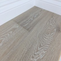 Grisea Oak Flooring Lightly Brushed Matt UV Lacquered, Natural Whitewash