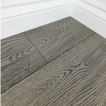 Grisea Oak Flooring Lightly Brushed Matt UV Lacquered, Grey