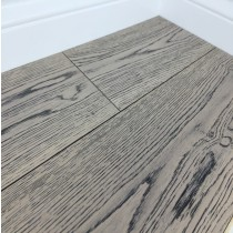 Grisea Oak Flooring Lightly Brushed Matt UV Lacquered, Silver