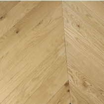 YNDE-PARQUET CHEVRON ENGINEERED WOOD FLOORING NATURAL MATT LACQURED OAK 90x750mm