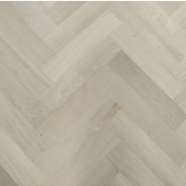 Y2 HERRINBONE ENGINEERED WOOD FLOORING WHITE BRUSHED MATT LAC 80x300mm