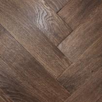 CAPRIO DURHAM Oak Rustic Distressed & Oiled Parquet , Brown