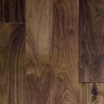 NATURAL SOLUTIONS NEXT STEP WIDE BLACK AMERICAN WALNUT LACQUERED