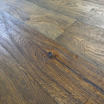 Y2 ENGINEERED DISTRESSED BRUSHED OAK DARK BROWN  ANTIQUE 220x2200mm