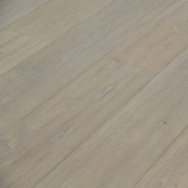 MAXI ENGINEERED WOOD FLOORING OAK SMOKED RUSTIC HANDSCRAPPED WHITE OILED 240X1900MM