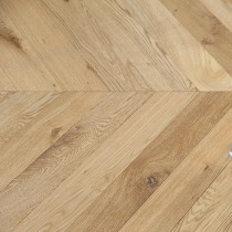 MAXI CHEVRON ENGINEERED WOOD FLOORING OAK RUSTIC UV OILED 90X600MM