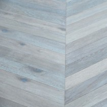 Maxi Chevron Collection Oak  Smoked  White
