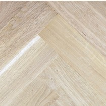 LIVIGNA HERRINGBONE SOLID WOOD FLOORING OAK UNFINISHED 70x230MM