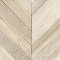 LIVIGNA CHEVRONS ENGINEERED WOOD FLOORING OAK UNFINISHED 90X540mm