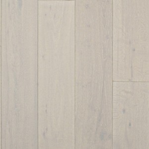 PRERII CARSON Oak Flooring White Brushed & Matt Lacquered