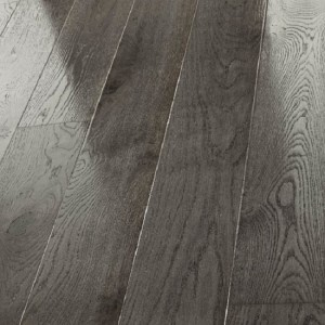 ELIPTICA CAJAR HDF Oak Flooring Grey Gloss Lacquered