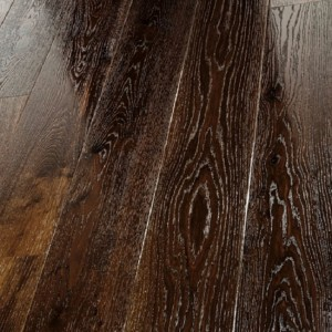 ELIPTICA COLOMERA HDF Oak Flooring Smoked Gloss Lacquered