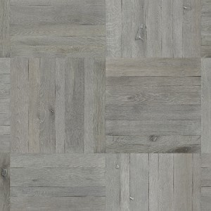 CLAUCA WUXI Oak Patterned Tiles Grey Brushed & Oiled
