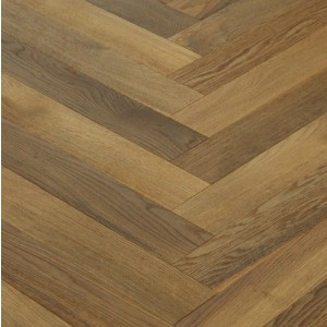 Maxi Herringbone Smoked Oak Natural Oiled Engineered Wood Flooring 90x550mm