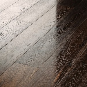 Meister Premium  PD400 Cottage  German Engineered Flooring Longlife Smoked Oak Lively Brushed & High Gloss Lacquered  8303