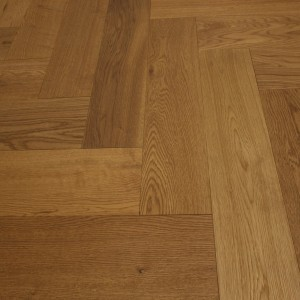 Y2 Herringbone Engineered Wood Oak NATURAL UV LACQUERED  Flooring 80x350mm
