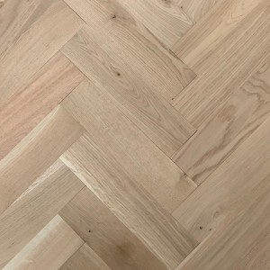Livigna Herringbone Engineered WOOD FLOORING OAK Unfinished 70 x 280mm