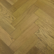 NATURAL SOLUTIONS HERRINGBONE  ENGINEERED WOOD FLOORING OAK SMOKED BRUSHED&UV OILED 100x400mm
