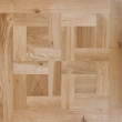 Livigna Herringbone SOLID OAK Mosaics Rustic  Flooring Unfinished 480x480mm