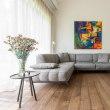 ECO HARDWOOD EUROPEAN PREMIUM ENGINEERED FLOORING SAICOS COLOURS COLLECTION WALNUT BRUSHED  RUSTIC OILED 180mm