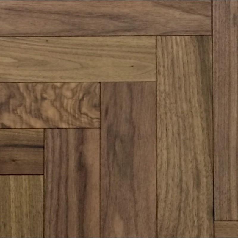 Livigna herringbone engineered walnut rustic flooring for Unfinished walnut flooring