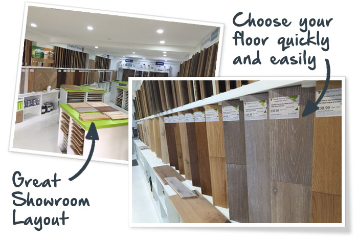 Trendy Flooring Showroom